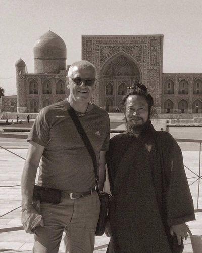 Check This Out Hello World Uzbek People Samarkand Registan Moine Taoist Registon Rencontre Insolite Enjoying Life Here Belongs To Me Uzbekistan Ouzbékistan Tashkent Karshi Silk Road Moine Taoist China Chine Soleil☀️ Hi!