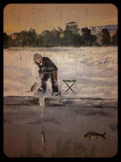 Tunnel Art Bass Fishing