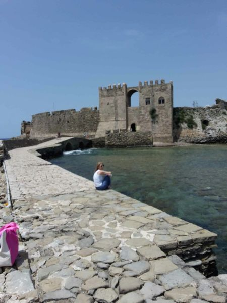 Quality Time Summertime Kastle Greece Sea Messinia Blue Relaxing Methoni Kastle_of_methoni