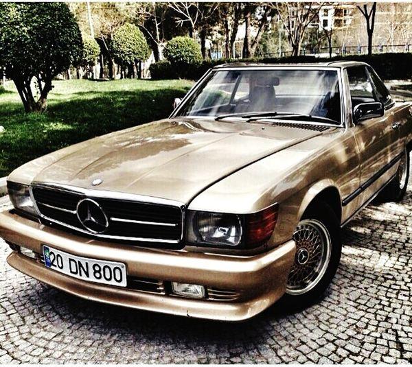 Vintage Mercedes-Classic Sl280 Mercedes 1985 Classic Car MyCar Mylove Denizli
