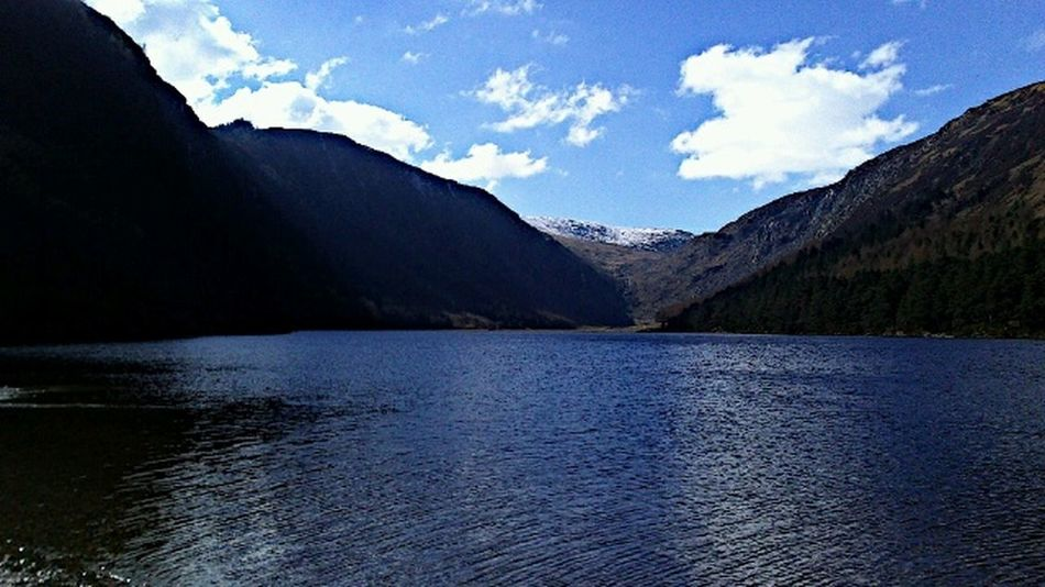 Wicklow Glendalough lake Peace And Quiet Beautiful Day