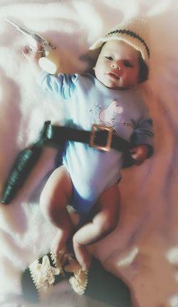 Showcase: January Baby Photography Baby Photo  Baby Babyboy Cowboy Cute Adorable Newborn Toddler