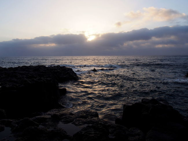 Canarias Canary Islands El Golfo Lanzarote Lanzarote Lanzarote Island Lanzarote-Canarias Beach Beauty In Nature Cloud - Sky Day El Golfo Horizon Over Water Idyllic Nature No People Outdoors Rock - Object Scenics Sea Sky Sunset Tranquil Scene Tranquility Water Wave