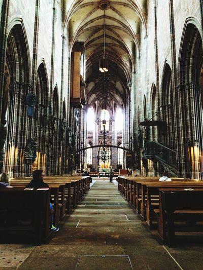 Architecture Church Nuernberg