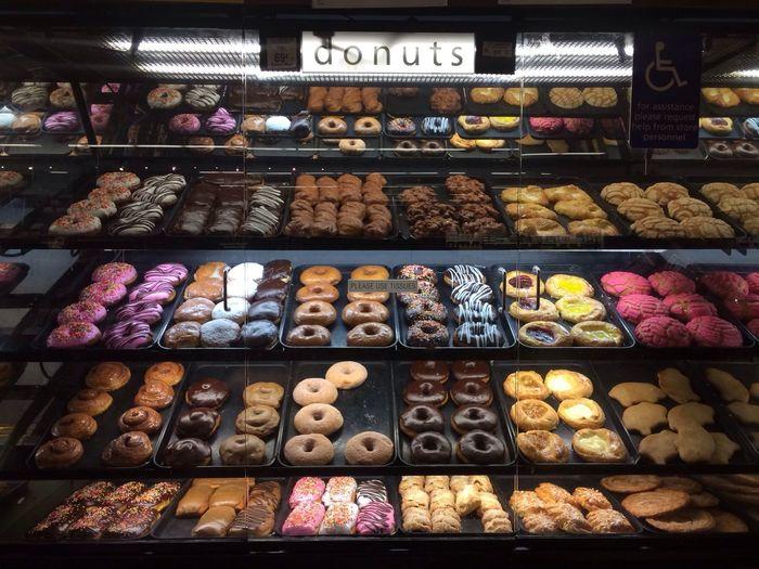 Donuts Food Dessert