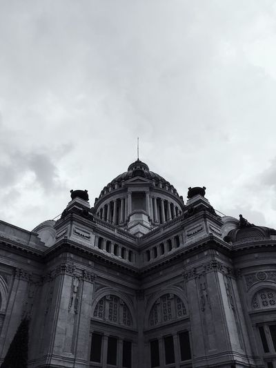 Architecture Sky Low Angle View Building Exterior Built Structure Cloud - Sky Outdoors Day No People Neo Renaissance Neo Classical Architechture Ananta Samakhom Throne Hall Throne Thailand Thai Palace