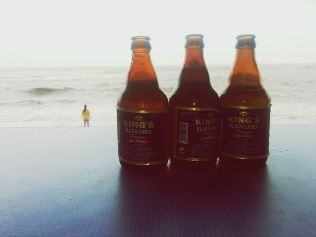 Queen with king...!! Seashore Life Is A Beach Nature Beer