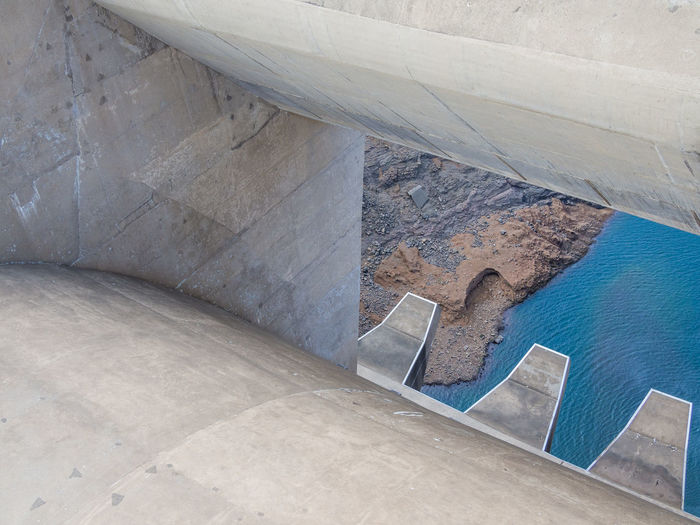Concrete Mountains Africa African Katse Dam Katsedam Lesotho Power Plant Hydro Dam Hydro Power Hydroelectric Power
