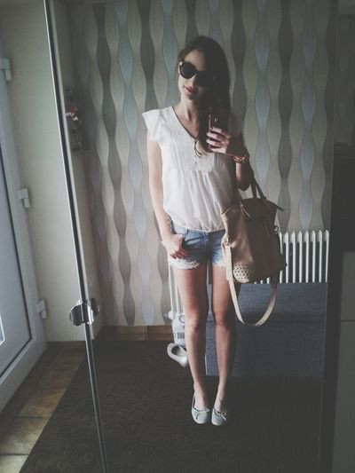Outfit Of The Day Ootd Hotpants Summer