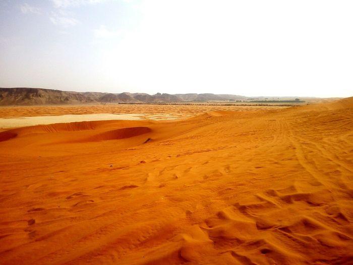 Saudi Arabia. Redsand Sand Sand Dune Desert No People Outdoors Landscape Open Edit Simple Photography Atv Tracks