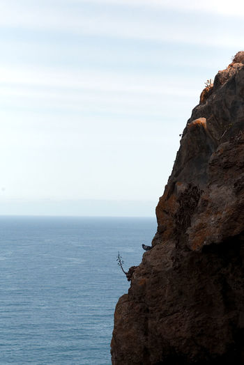Canary Islands EyeEm Nature Lover Nature Blue Canon Dove Horizon No People Rock - Object Sea And Sky