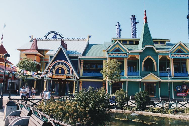EyeEm Selects Sky Architecture Building Exterior Built Structure Amusement Park Ride Traveling Carnival Oktoberfest Carnival - Celebration Event Carousel Ride Amusement Park Rollercoaster Carousel Horses Blooming Office Building Chain Swing Ride Coney Island Carnival Venetian Mask Merry-go-round Ferris Wheel Gondola - Traditional Boat EyeEmNewHere