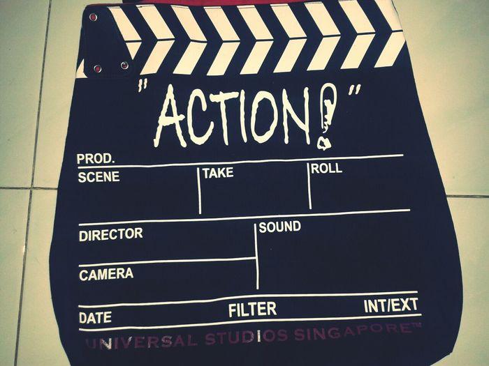 cllaper ACTION Bags Universal Studios  Universalstudiosingapore