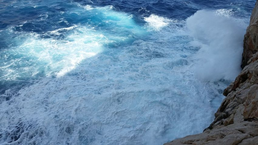 Water Mare Blue Nature Outdoors Sardegna Sea No Filter, No Edit, Just Photography Magnificentsardegna