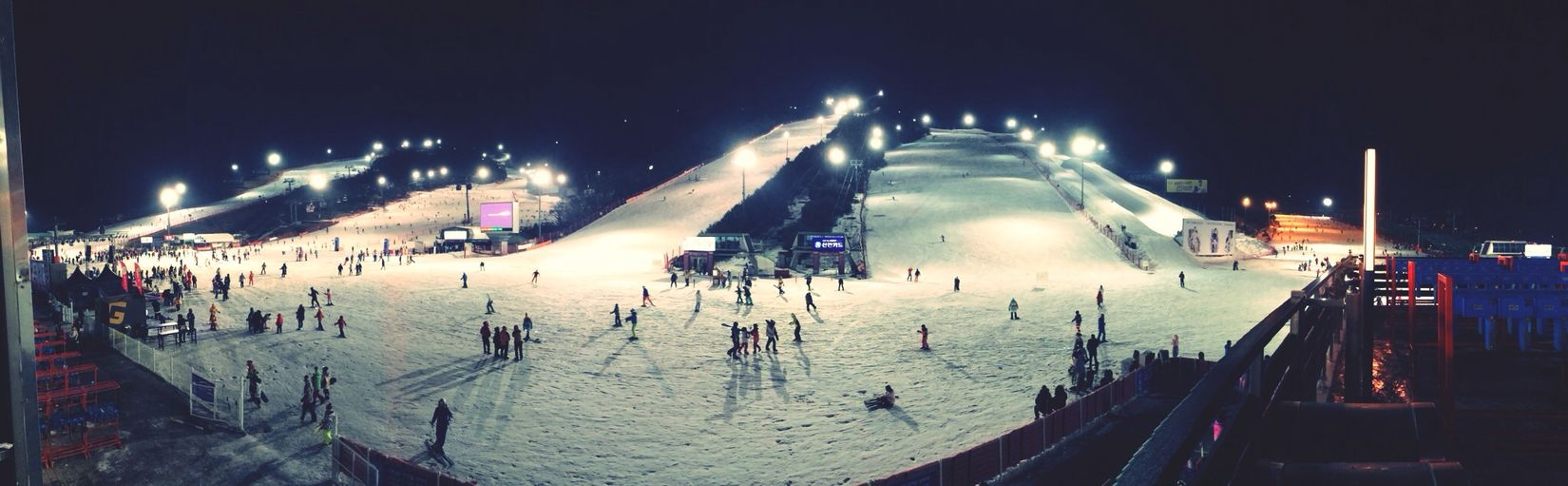 I rode snowboard~ Beautiful Surroundings