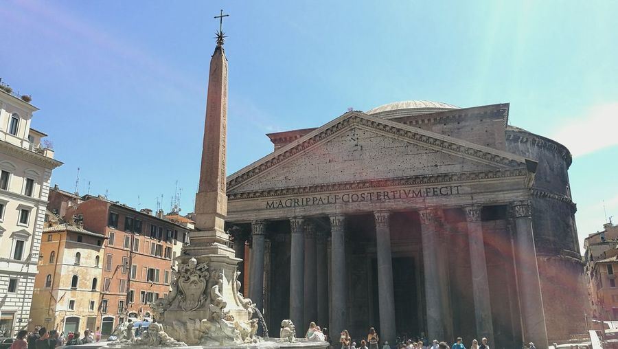 Italy Rom Pantheon Pantheon Rome Monment Ancient Ancient Building Romanempire Discovering First Eyeem Photo Interrail Europe Trip