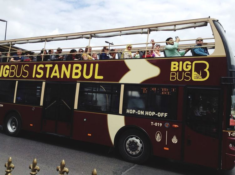 Bigbustour Istanbul Tour Tourists Turkey