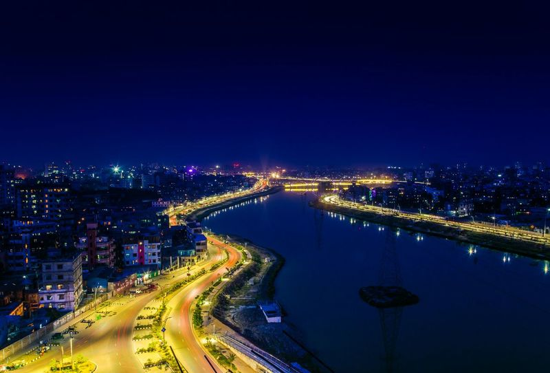 Cityscapes Dhaka Bangladesh Night Nightphotography Canon Long Exposure Flying High