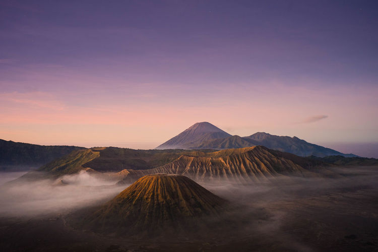 Sunrise at Bromo Mt. Indonesia Mountain Beauty In Nature Volcano Scenics - Nature Sky Tranquil Scene Tranquility Environment Landscape Non-urban Scene Geology Sunset Nature Physical Geography No People Idyllic Travel Destinations Land Remote Copy Space Outdoors Volcanic Crater Sunrise My Best Photo