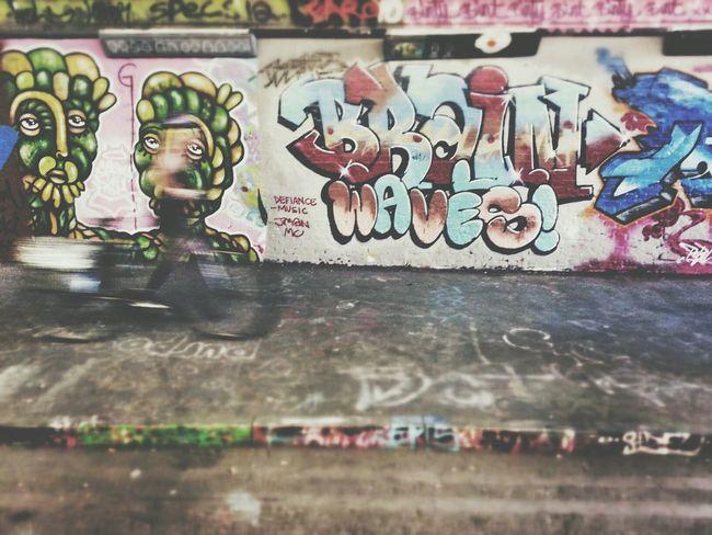 Brain▶Waves! Andrographer Graffiti NEM Street Writing On The Walls