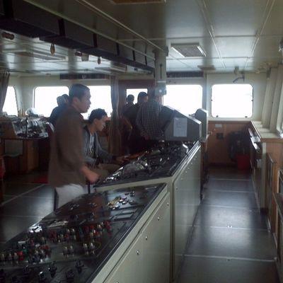 Chinese ship main deck