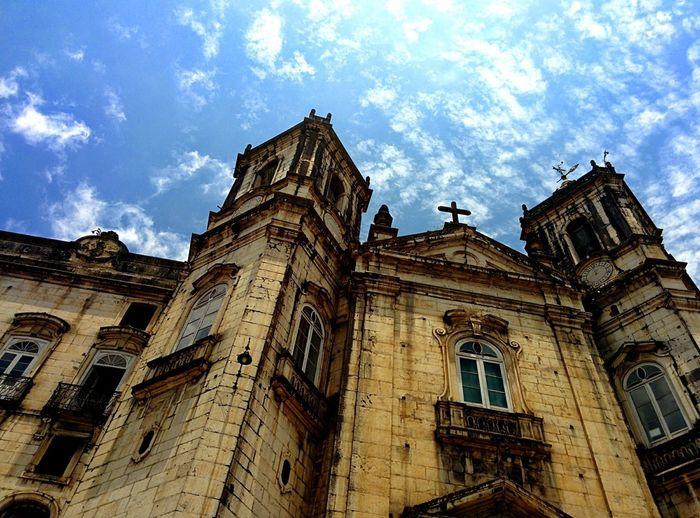 Church Tower Travel Destinations Sky Religion Horizontal City Salvador Bahia Architecture