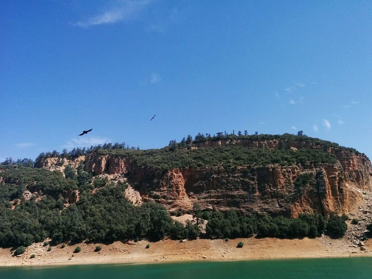 Tranquil Scene Blue Mountain Tranquility Scenics Landscape Non-urban Scene Beauty In Nature Physical Geography Cliff Hill Majestic Countryside Travel Destinations Solitude Niceview Trips Crazy Moments Travel Enjoying Life Morocco_travel Travel Destinations Outdoors Relaxation MoroccoTrip Agulmam