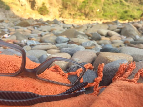 Sommergefühle Glasses Sunglasses Day Beach No People Eyeglasses  Sand Outdoors Nature Sunlight Pebble Close-up Ocean