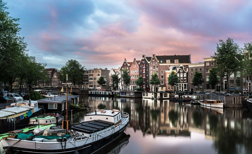 Amsterdam Canal Kromme Waal