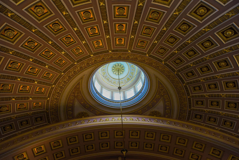 Smithsonian American Art Museum Architectural Feature Architecture Building Capitol Ceiling Colorful Enjoying Life No People Taking Photos Travel US Capitol Building Washington, D. C.