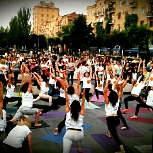 Collected Community Mass Yoga.