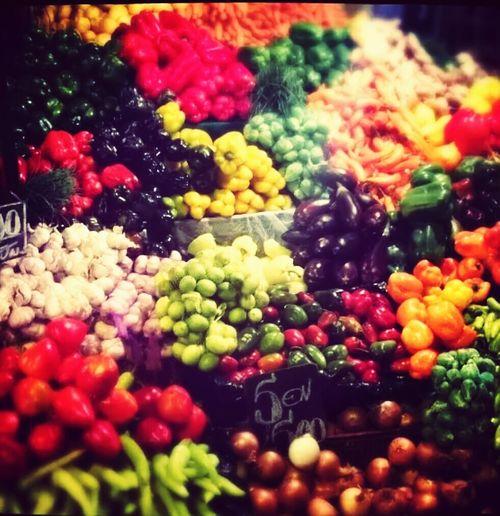 Feria Valparaiso, Chile Fruits Frutas Y Verduras Feria De Valpo