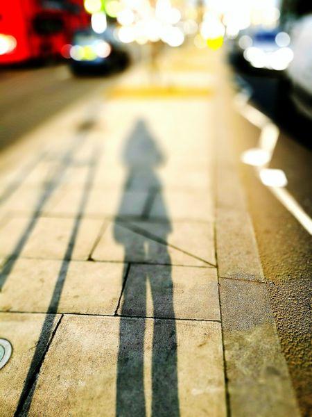 Shadow Sunlight Outdoors City Streatham Hill London Lifestyle Love ♥ Hometown Memories Illuminated City Life Portrait Selflife