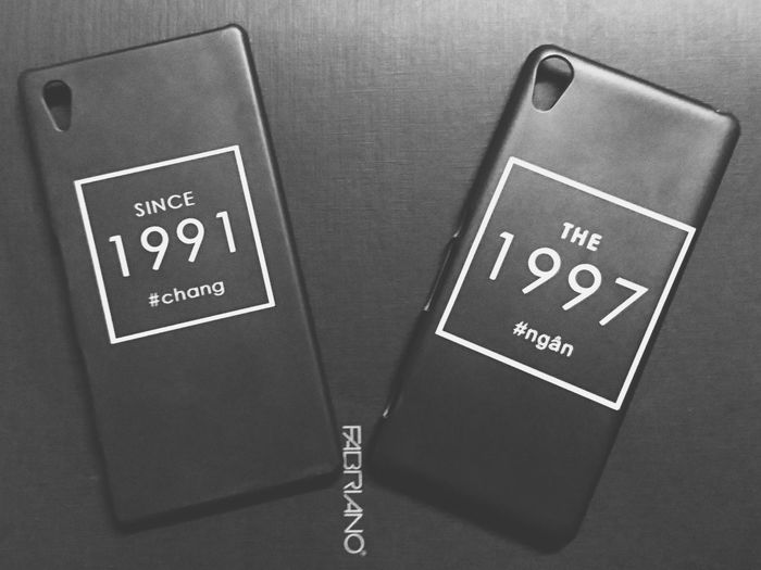 No People Close-up Communication Archival Text Day Blackandwhite 1991 1997 Phonecase Saigon, Vietnam Sony Z5 SonyXA Modern Simple People EyeEmNewHere