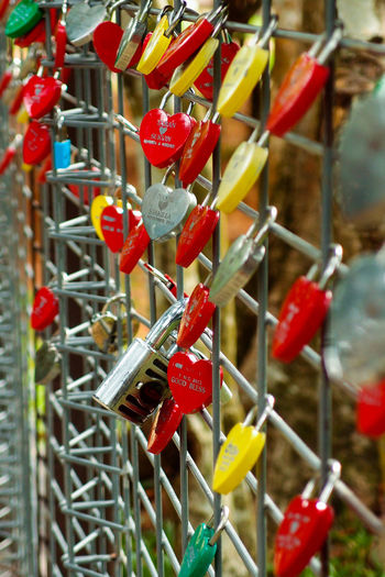 love locks ASIA Feeling Love Padlocks Waiting Abundance Close-up Day Emotion Fence Focus On Foreground Food Hanging Hope Hoping  Large Group Of Objects Lock Love Lock Malaysia Metal No People Outdoors Padlock Red Travel Destinations
