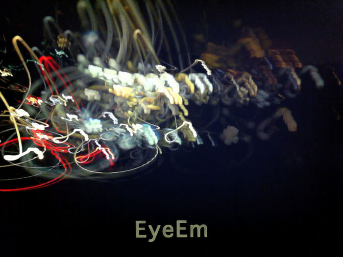 Eyeem. Fine. Thank you. Abstract Beauty In Nature Black Background Close-up Eyeem Logo Focus On Foreground Graphic Design Illuminated Lightpainting Nature Night No People Selective Focus