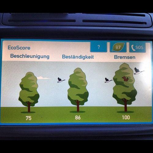 Wer bremst, verliert! #Car2go-#Ecoscore CC car2go CAR2GO Ecoscore