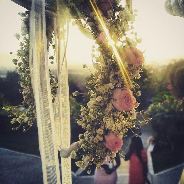 "Wedding day with an awesome sunset at ""Quinta das Façalvas"" Weddingday  Wedding Work Sunset 2playmore Film Video Instapic Samy &vanessa"