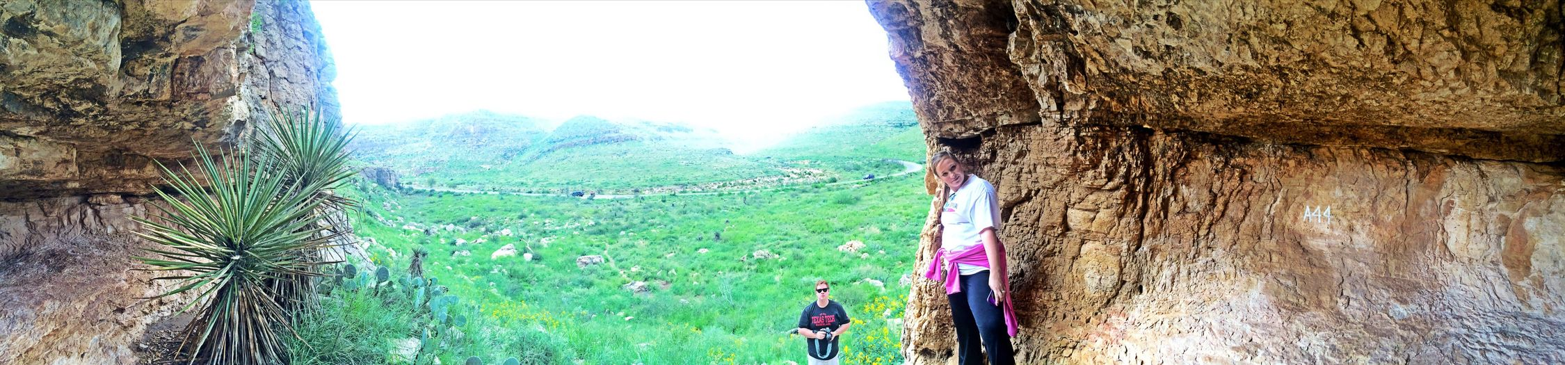 CarlsbadCaverns New Mexico Panorama Landscape
