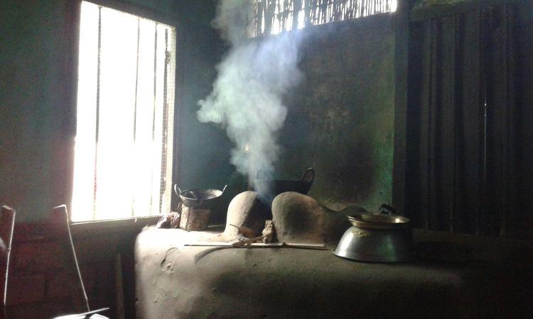An assamese kitchen
