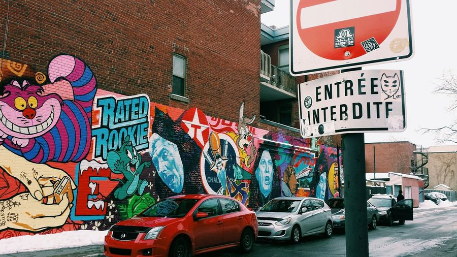 Streetart Streetphotography Montreal Street Art Montreal Day Enjoyinglife  Beautiful Day Good Day👍 Montreal City by: •_mconnolly ❄