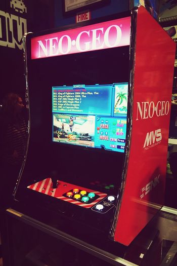Minicade! This mini table-top arcade was NeoGeo themed, and has 619 games on it; get one today! Check out our site, arcades4aid.com for more info! Minicade Tabletop Arcade Arcade Games Retro Mancave 80s Ilovethe80s GALAGA  Neogeo Ninja Turtles TheSimpsons MarvelvsCapcom Forsalenow BUYNOW Gift Present Nerdy