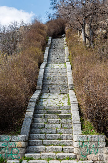 Colors Colours Light Nature Outdoors Stairs, Stone Stones