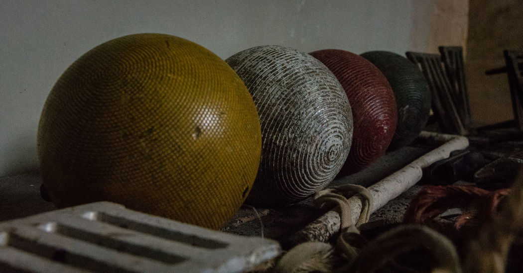 Old-fashioned Close-up Croquet Croquet Ball Day Indoors  No People Still Life
