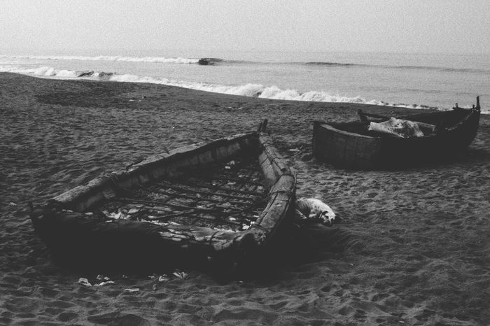 Nothing Thrills me Anymore Life Is A Beach Blackandwhite Boats Ocean