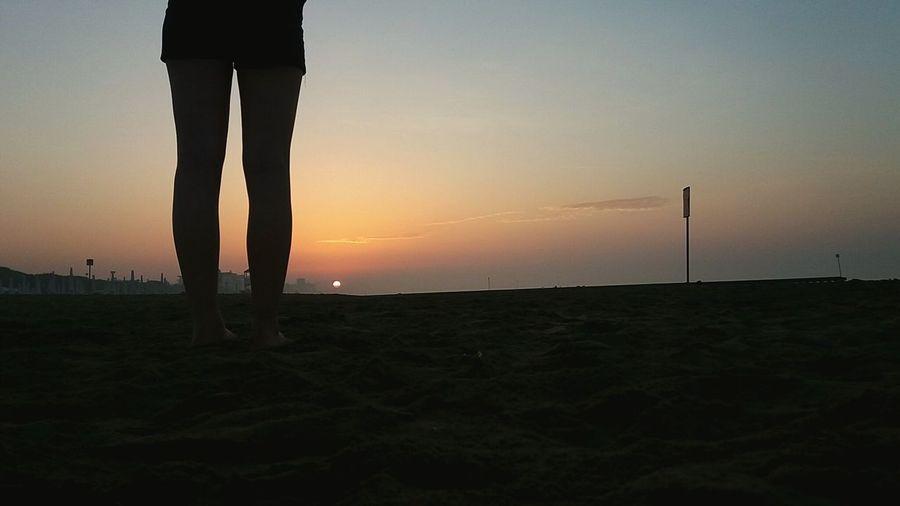 EyeEm Selects June Things Around Me Sunshine Sunshine Earlymorning  Keepkalm StayUnited Low Section Beach Standing Silhouette Human Leg Sun Men Summer Sand Calm Tranquility Scenics Non-urban Scene Idyllic The Still Life Photographer - 2018 EyeEm Awards The Traveler - 2018 EyeEm Awards