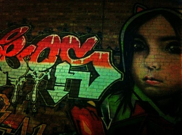 Graffiti Streetart I Love This City In My Hood