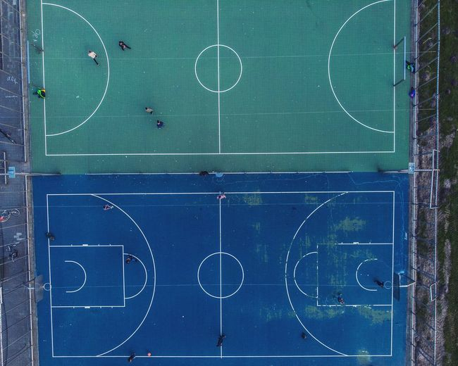 Kids Playground Playground Structure Europe Football Basketball Basketball Field Football Field Drone  Dronephotography Green Blue Bird Eyes View Helicopter View  Blackboard  Sport Indoors  No People Soccer Field Close-up Day Soccer Green Color Court Basketball - Sport Playing Field Basketball Hoop Stadium Marking Indoors  Colour Your Horizn
