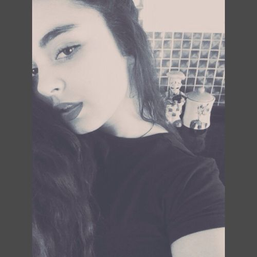 Blackandwhite Face Girl My Eyes <3
