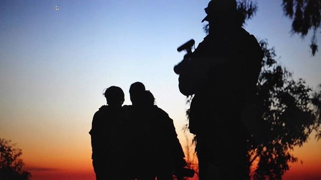 Work Time... Female Fighter Peshmerga Kurdistan K24